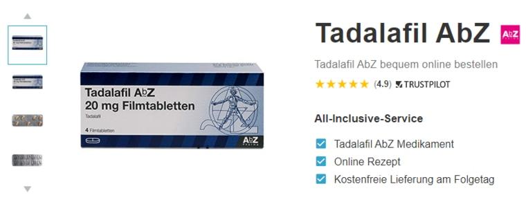 Tadalafil AbZ kaufen