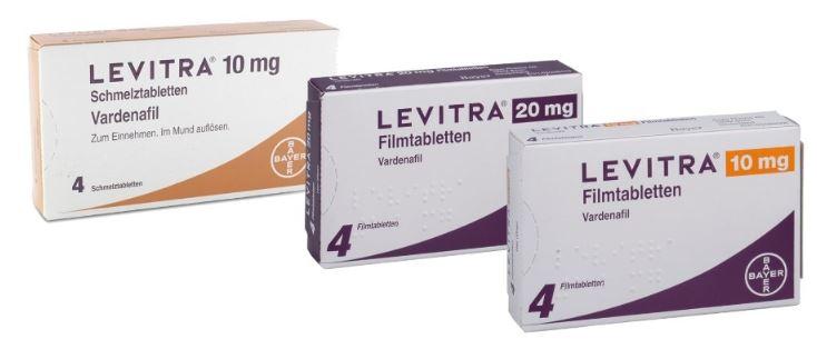 Dosierung von Levitra